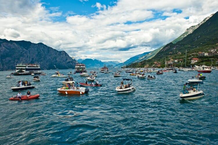 Red Bull Cliff Diving 2011 Lake Garda