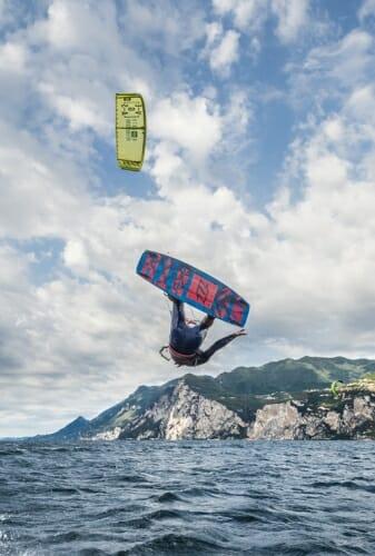 gianmaria coccoluto kitesurf malcesine peler