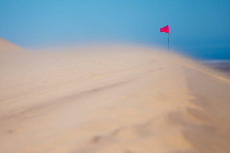 vento nel deserto