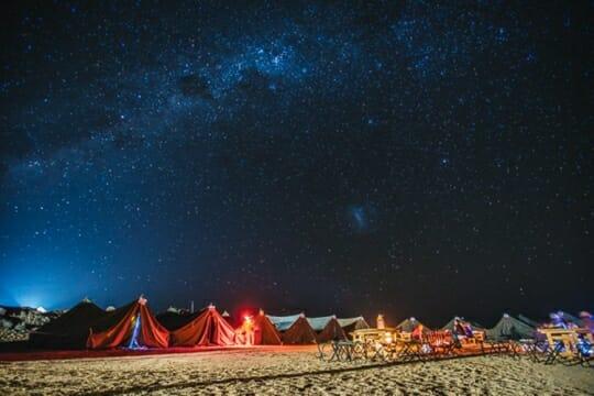 sahara race namibia 2017 accampamento