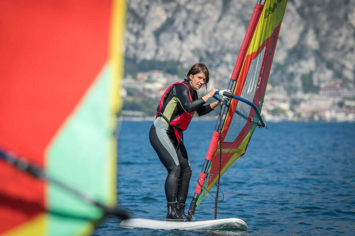 i primi bordi sul windsurf