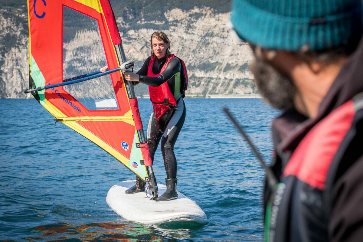 09 corso base windsurf lago di garda malcesine 360gardalife 1200x800