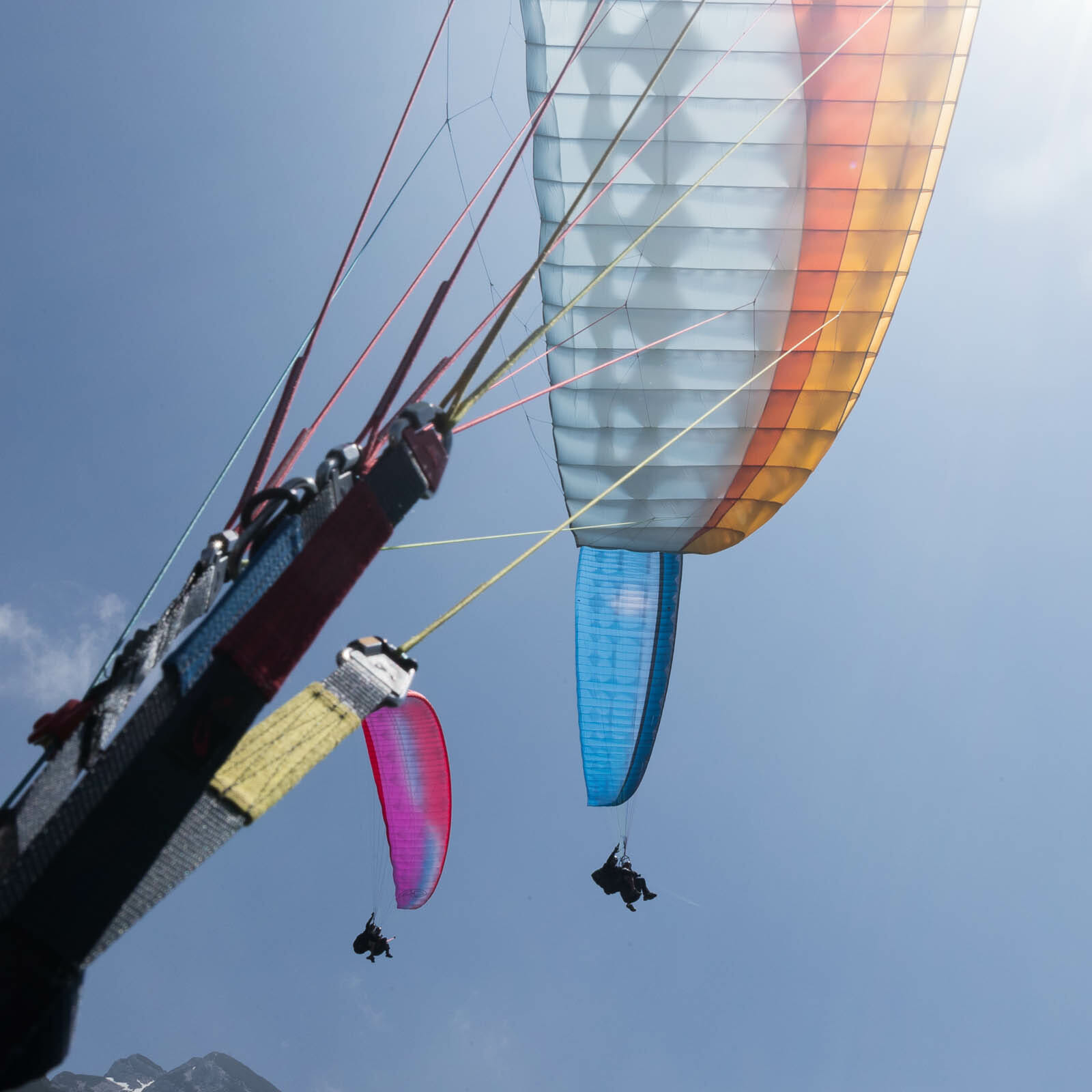 Garda air Style tandem paragliding
