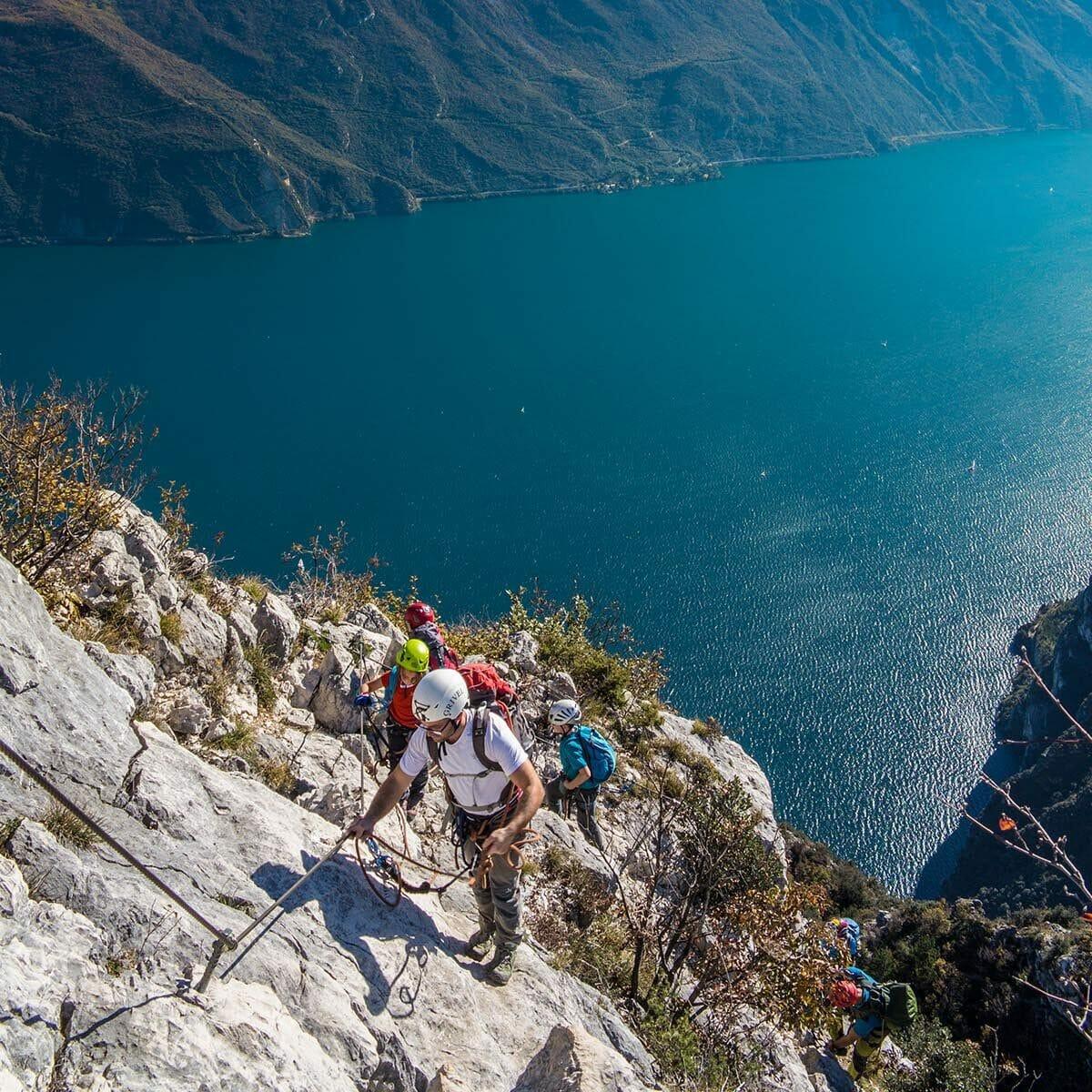 cima capi and lake view