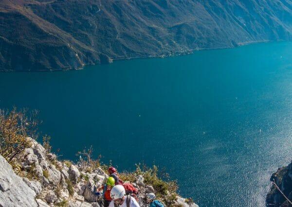 cima capi e vista lago