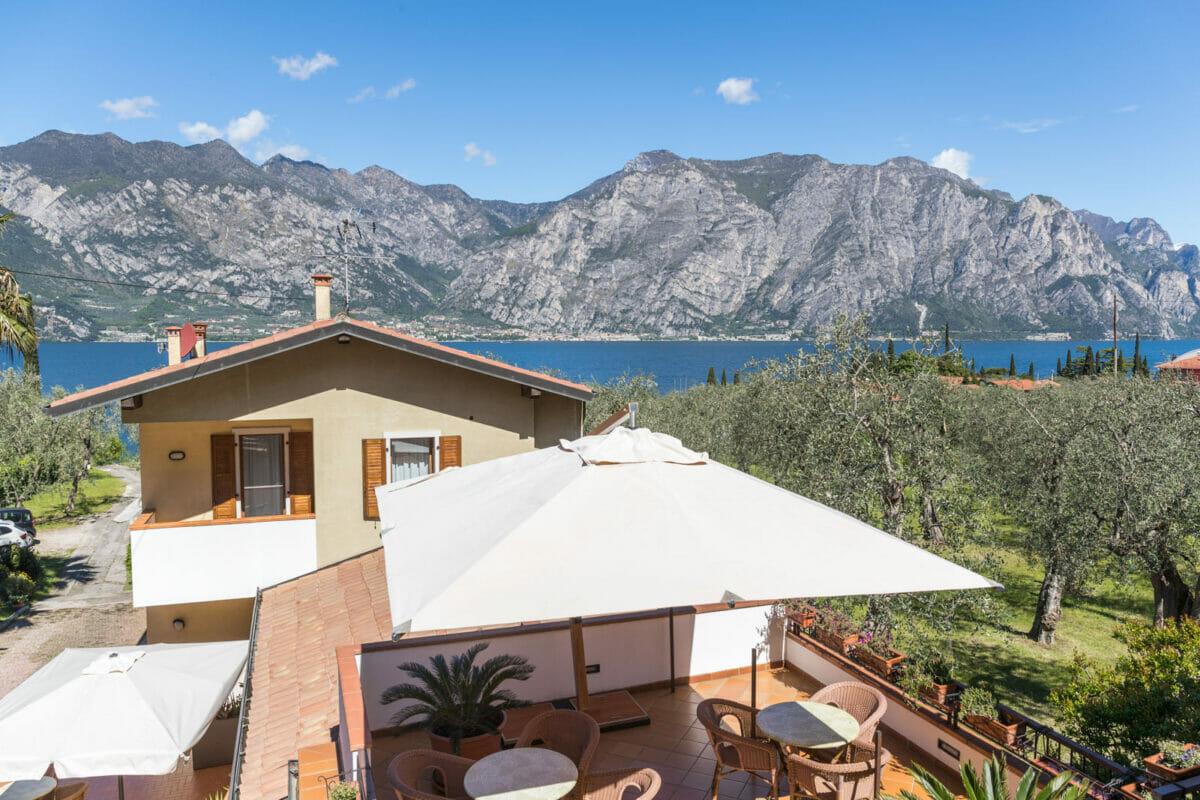 Casa Benamati Malcesine vista lago