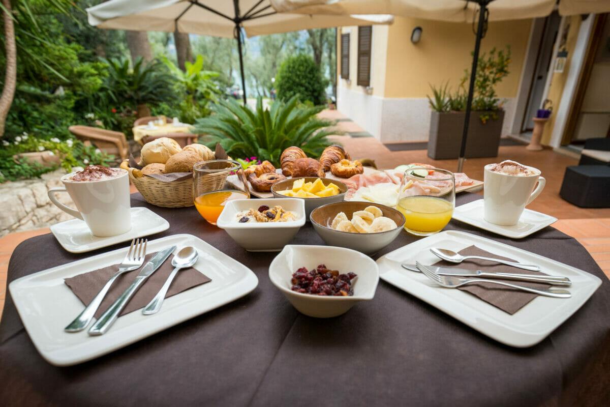 Casa Benamati Malcesine colazione