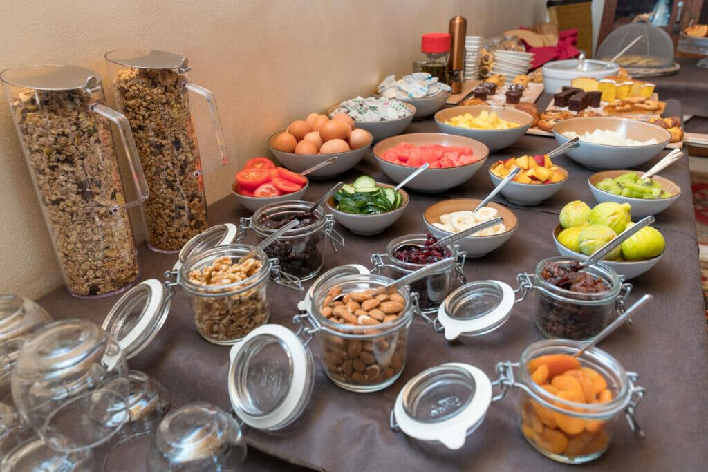 Casa Benamati Malcesine buffet