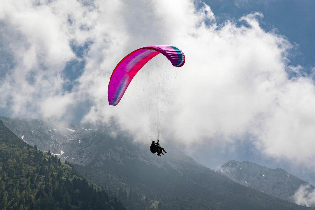 volo in parapendio sul monte baldo