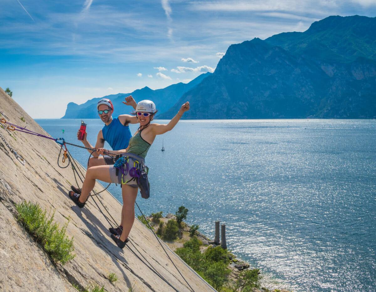 arco mountain guide arrampicata