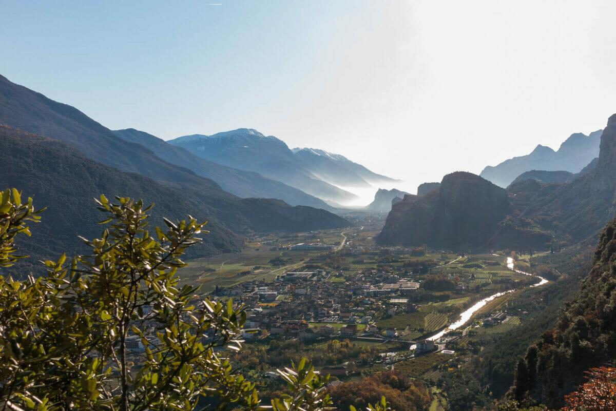 Vista valle del Sarca