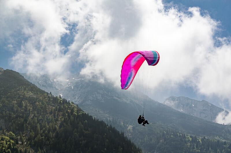Volo tandem in parapendio sul Monte Baldo