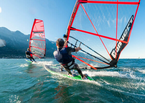 windsurf al lago di garda