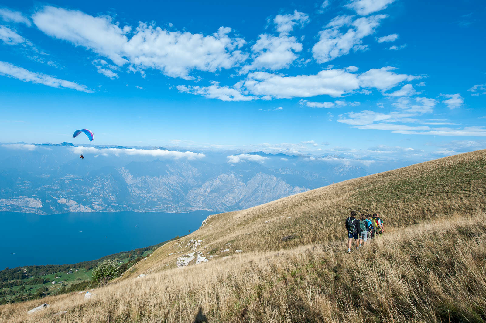 Ventrar path on Monte Baldo
