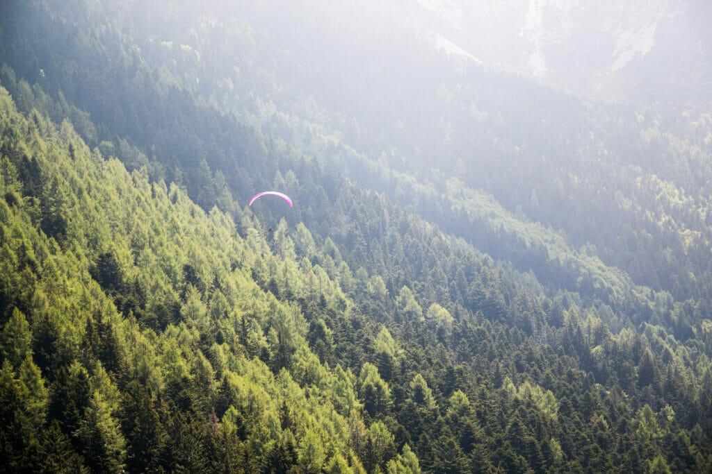 Gleitschirmfliegen Tandemflug in Malcesine und Gardasee