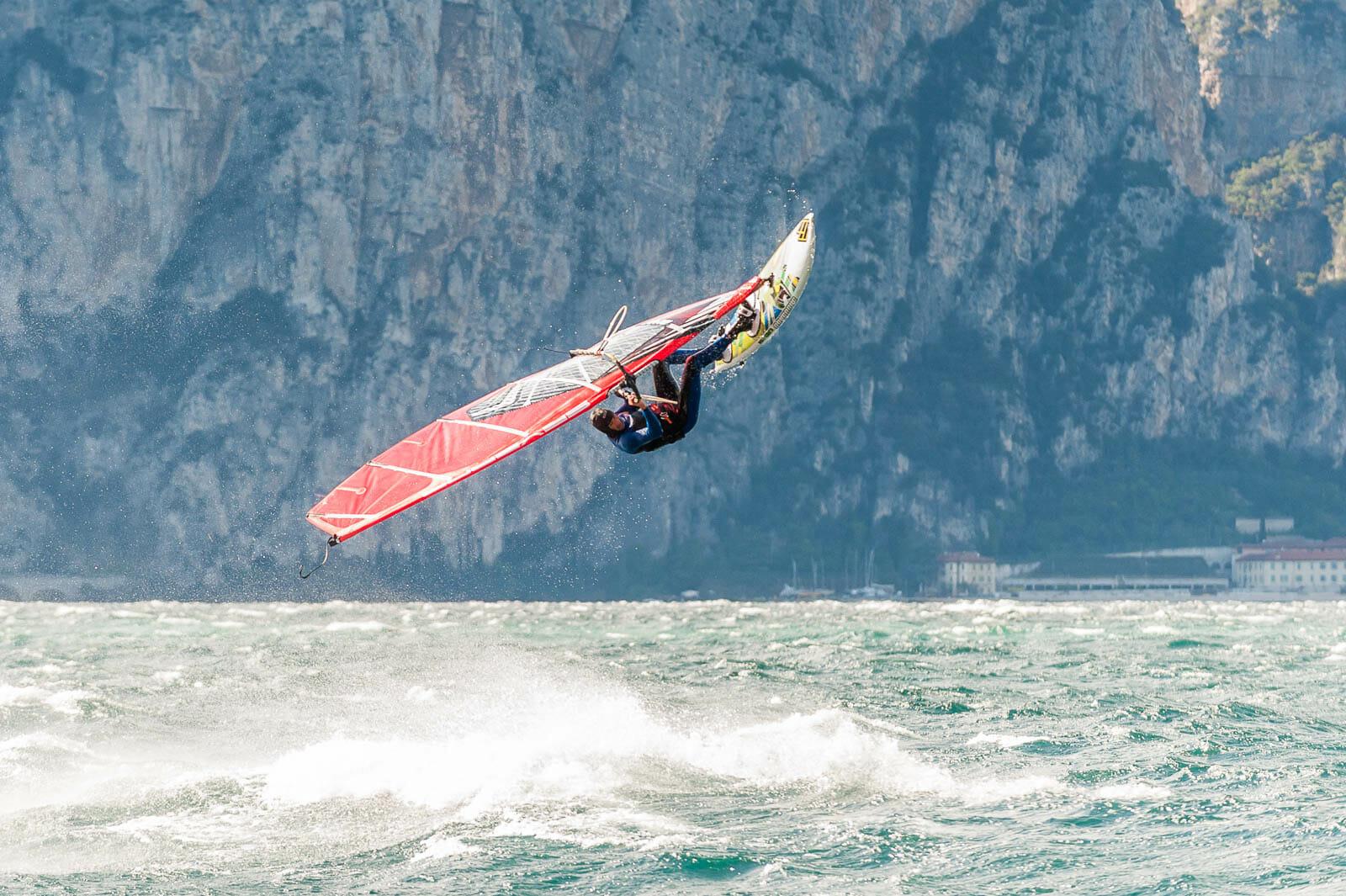 wind storm with fabio calò in brenzone
