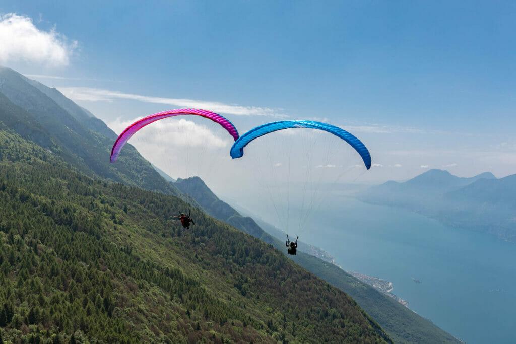 Paraglifing Tandemflug mit Garda Air Style Piloten
