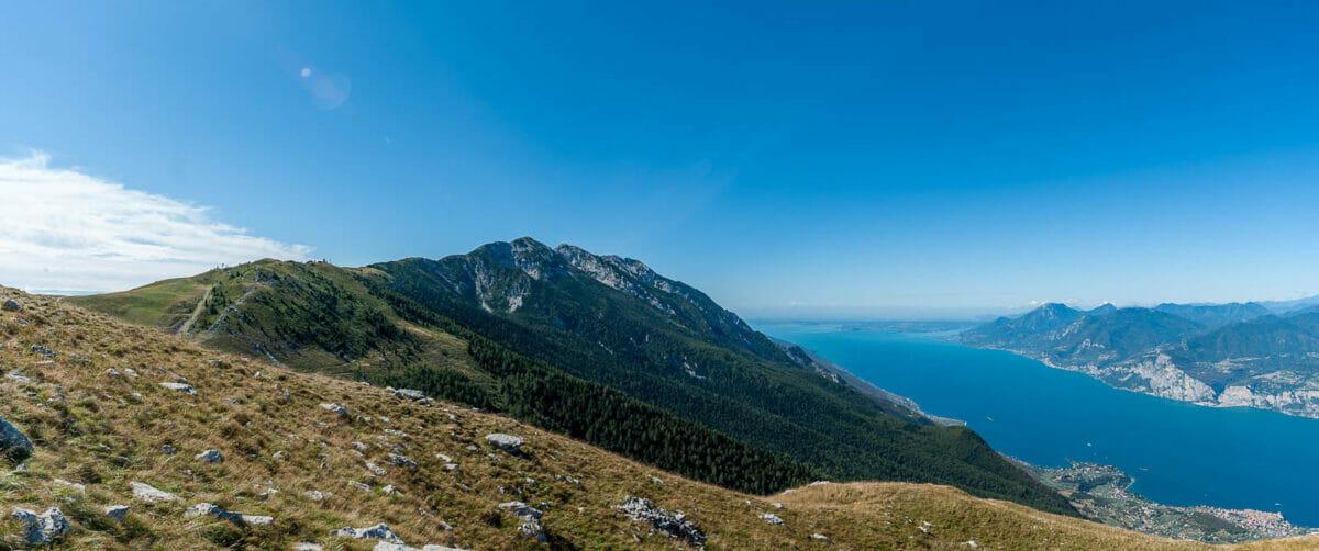 vista lago dal monte baldo