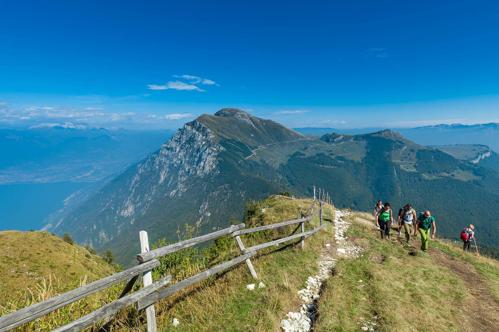 path 651 on Monte Baldo