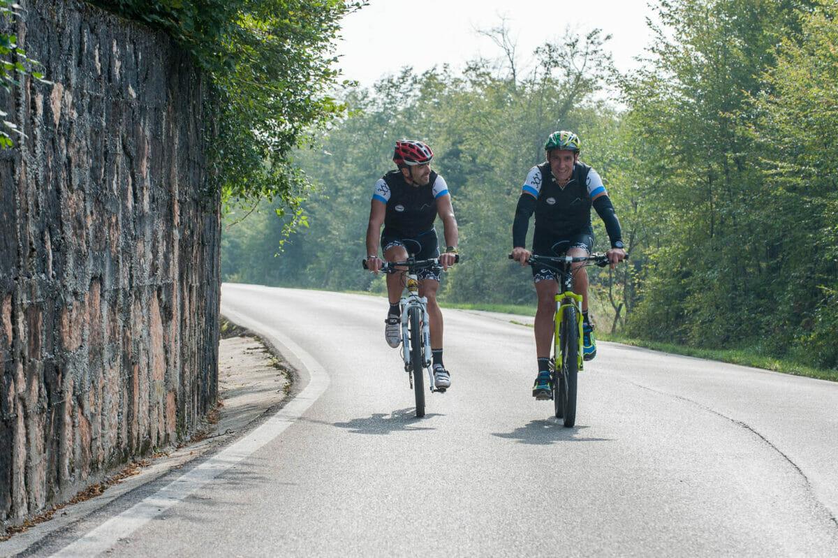 Discesa finale verso il Lago di Garda
