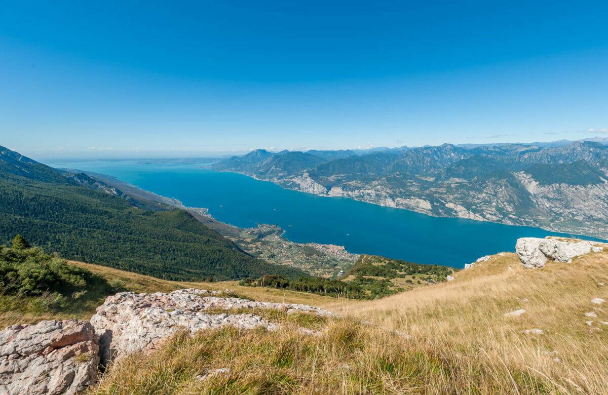 ausblick von monte baldo