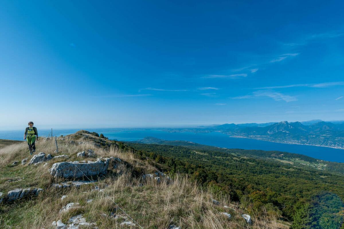 trekking monte baldo süden