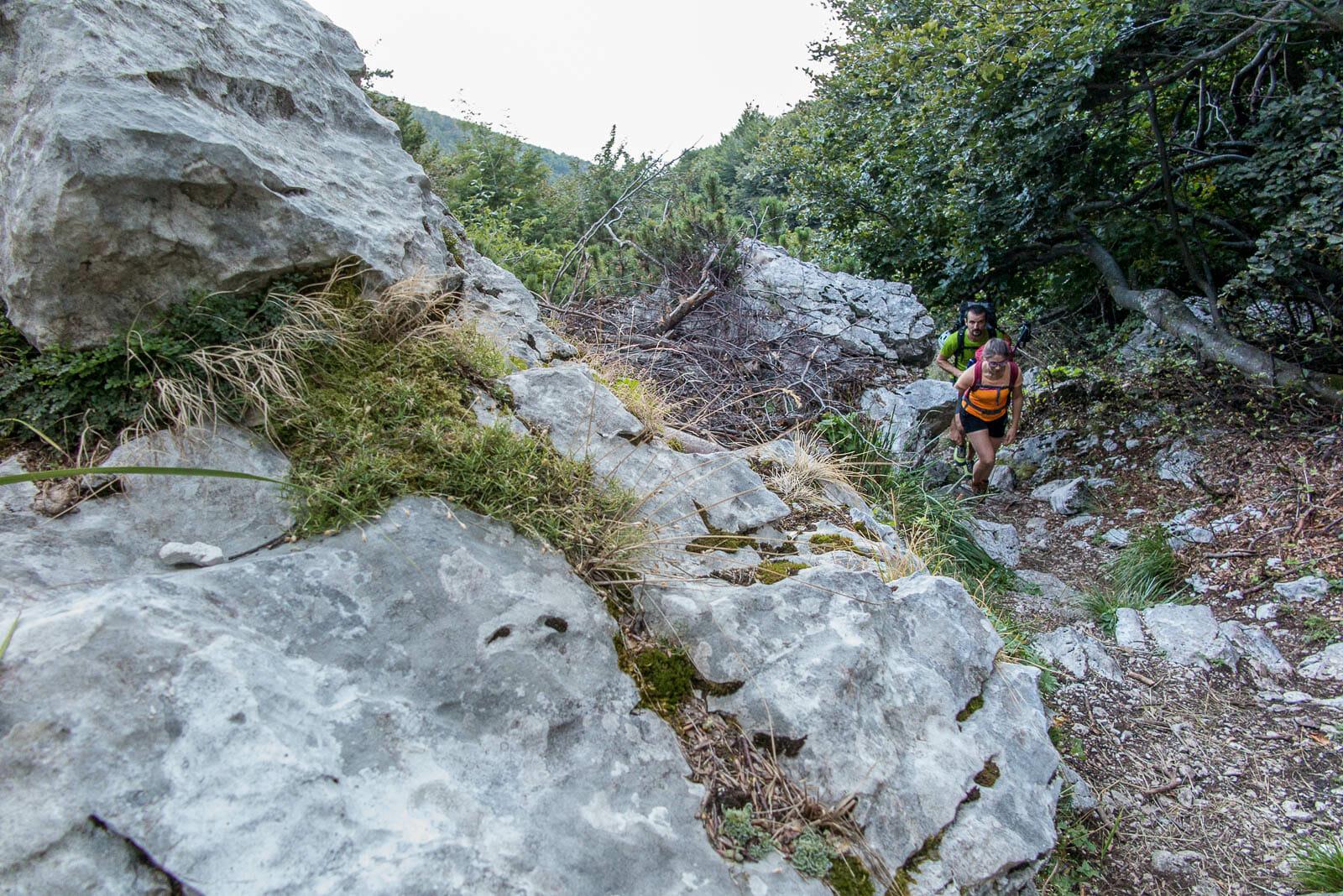 monte baldo wanderroute weg 654 start