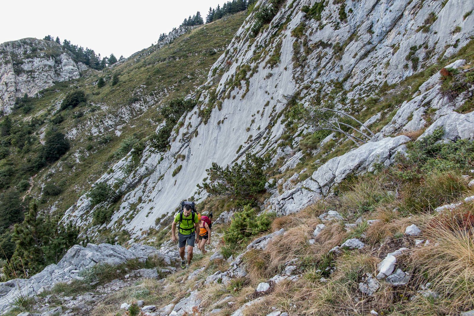 monte baldo trail 654 steep