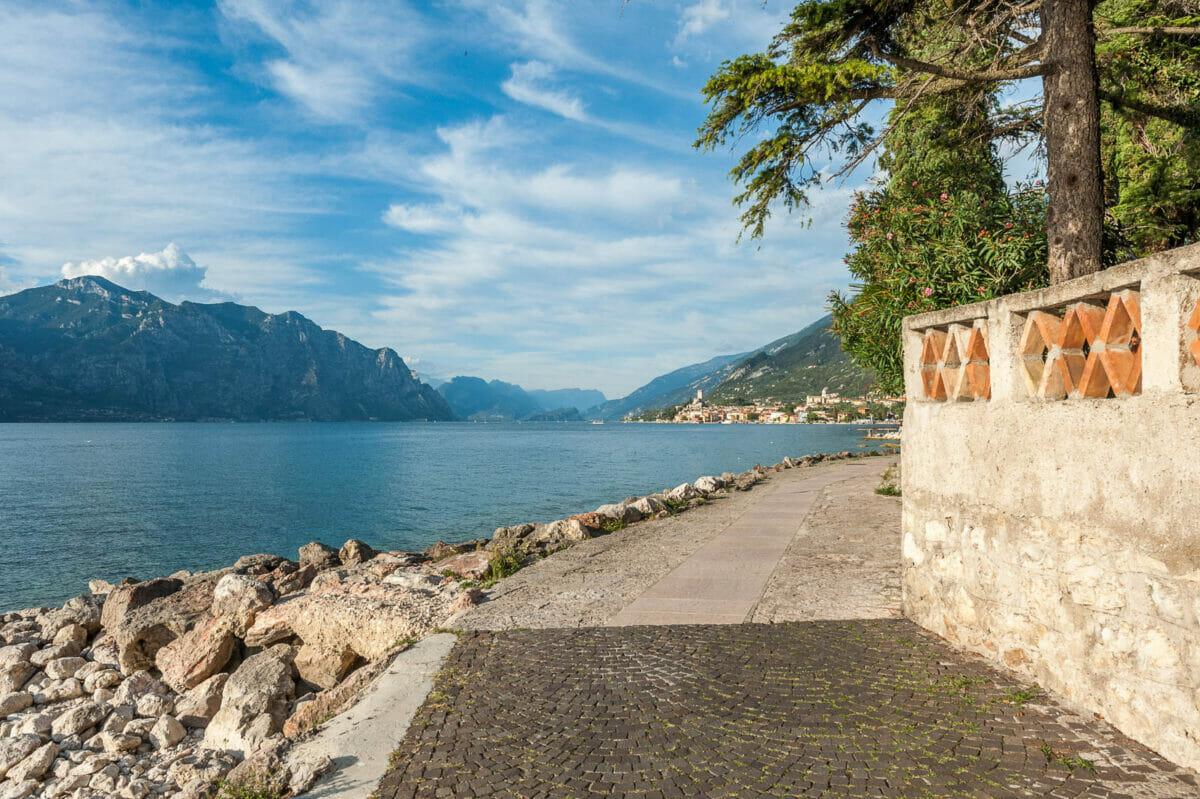 Seepromenade in Malcesine