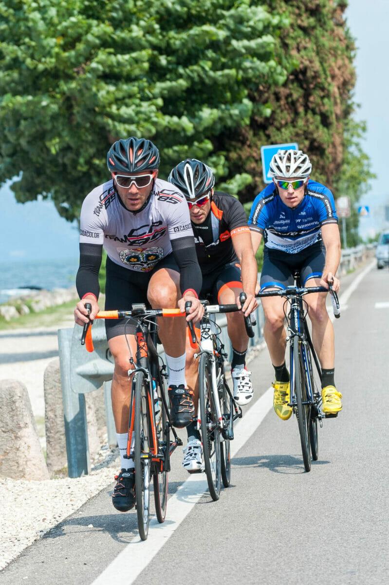 road bike at lake garda