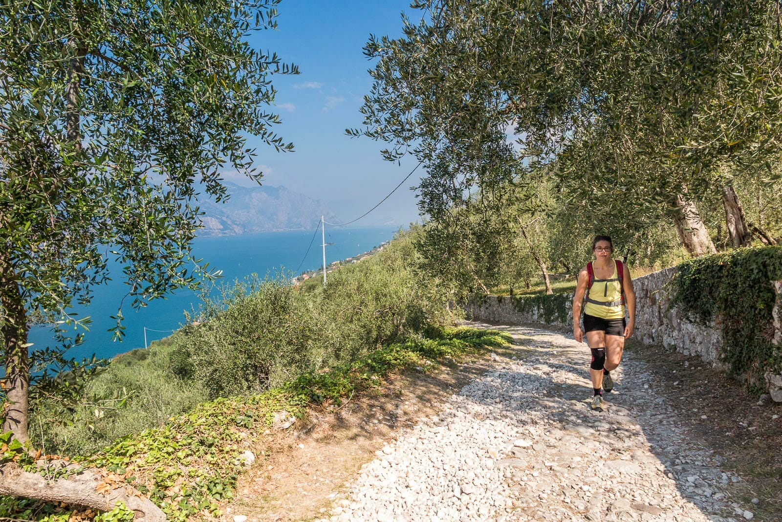 stroll to campo of brenzone