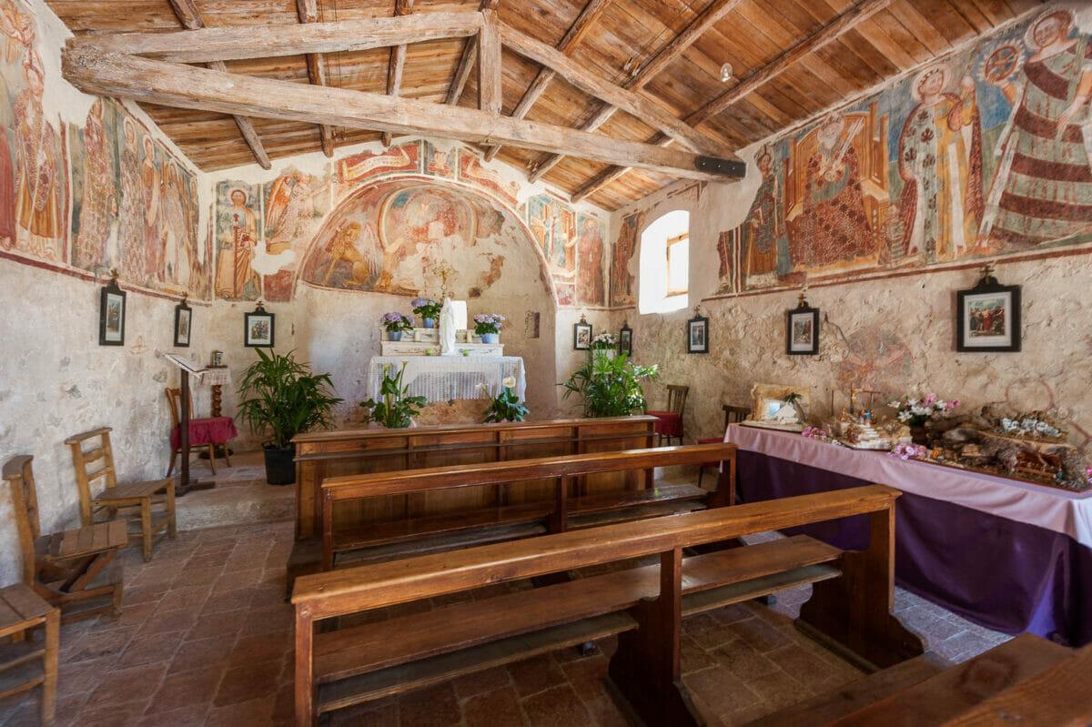 Kirche in Campo: Brenzone Weilern am Gardasee