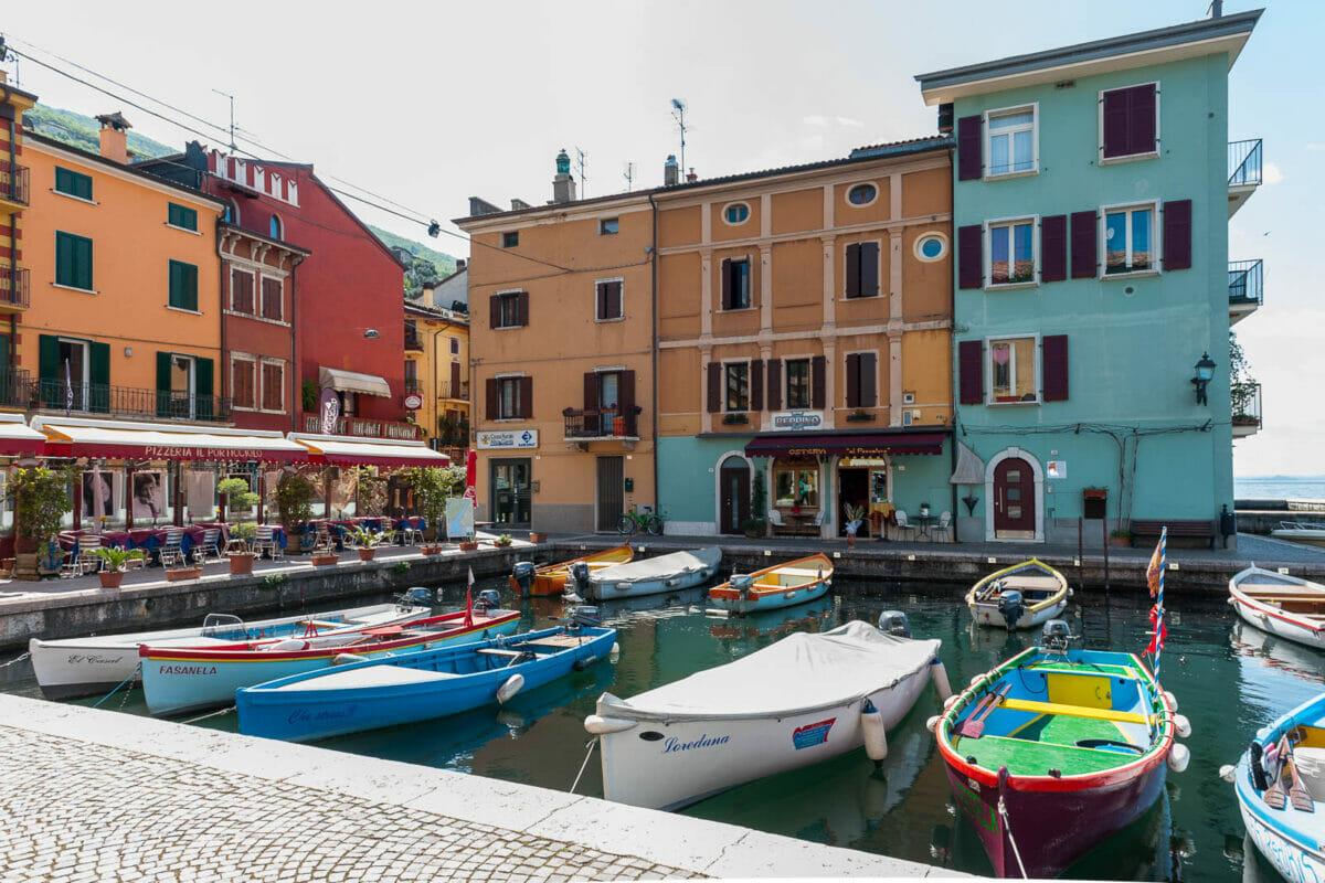 Catselletto harbour: Brenzone sul Garda hamlet