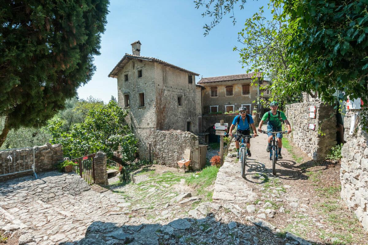 il borgo di campo in bici