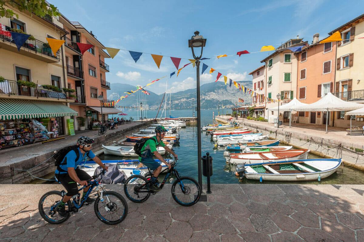 percorso bici a porto