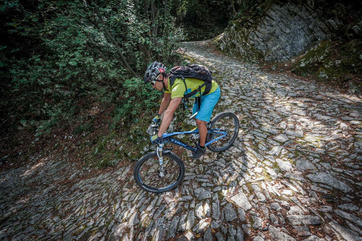 vacco Maultierpfade steile abstieg