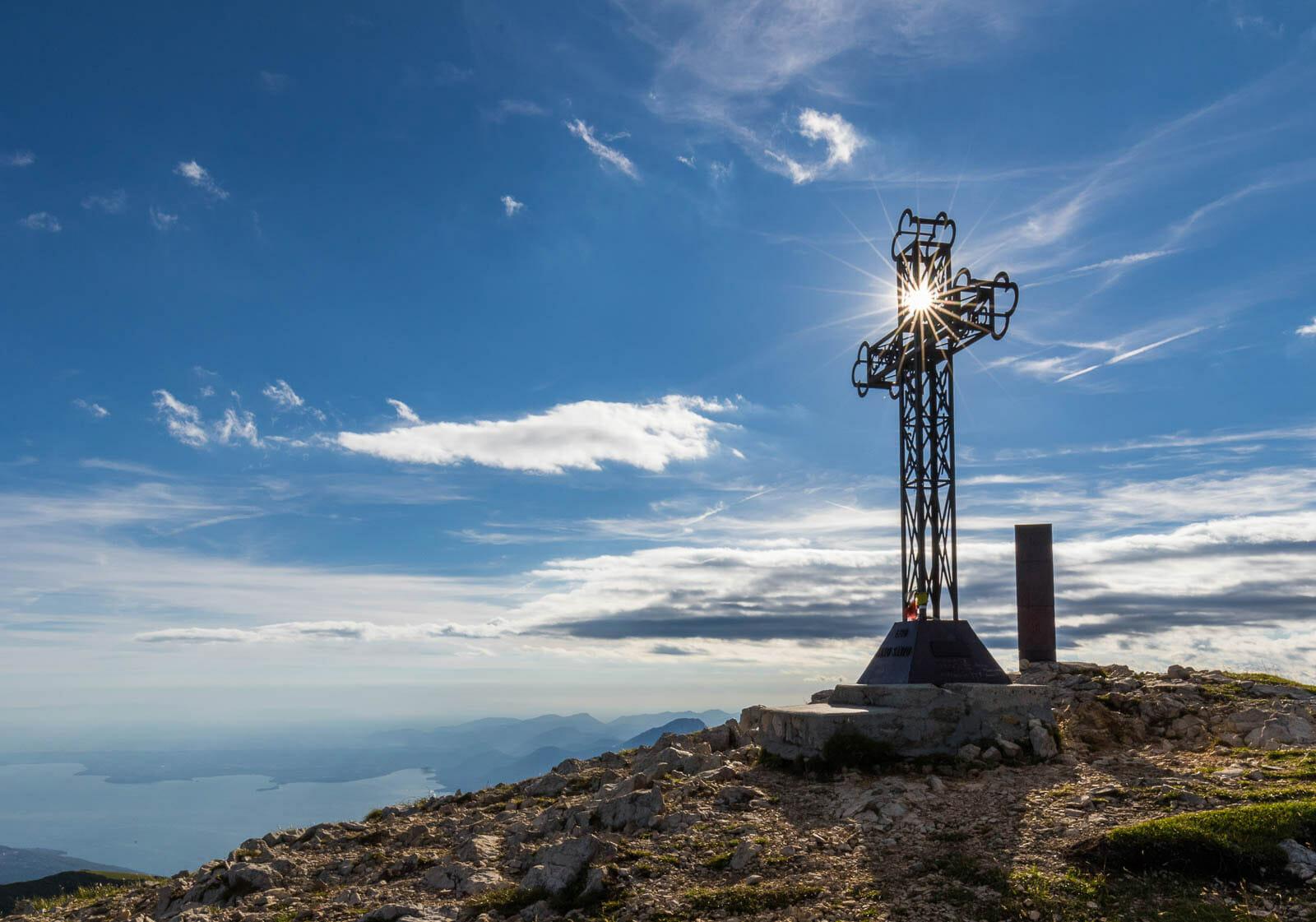 Mount Telegrafo summit