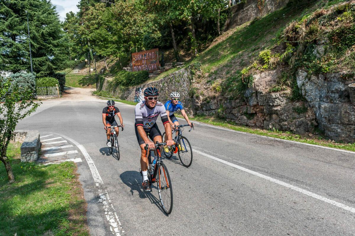 bike road in san zeno di montagna