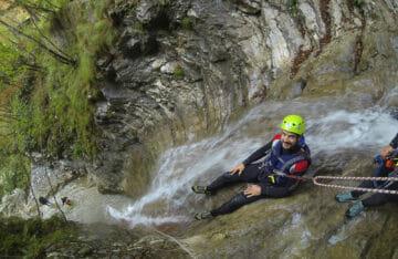 canyoning-tignale-scivolo