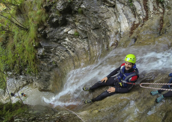 canyoning-tignale-slide