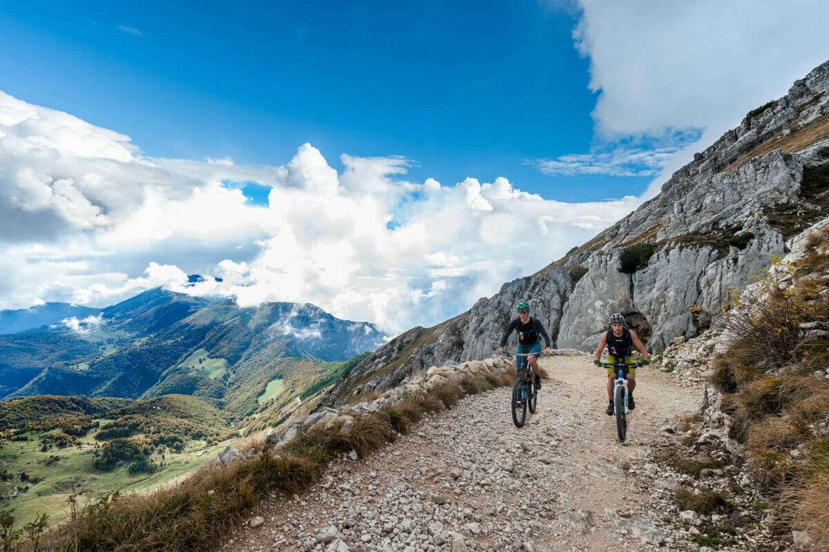 uphill to monte altissmo