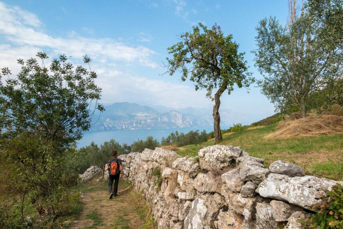 downhill on path 37