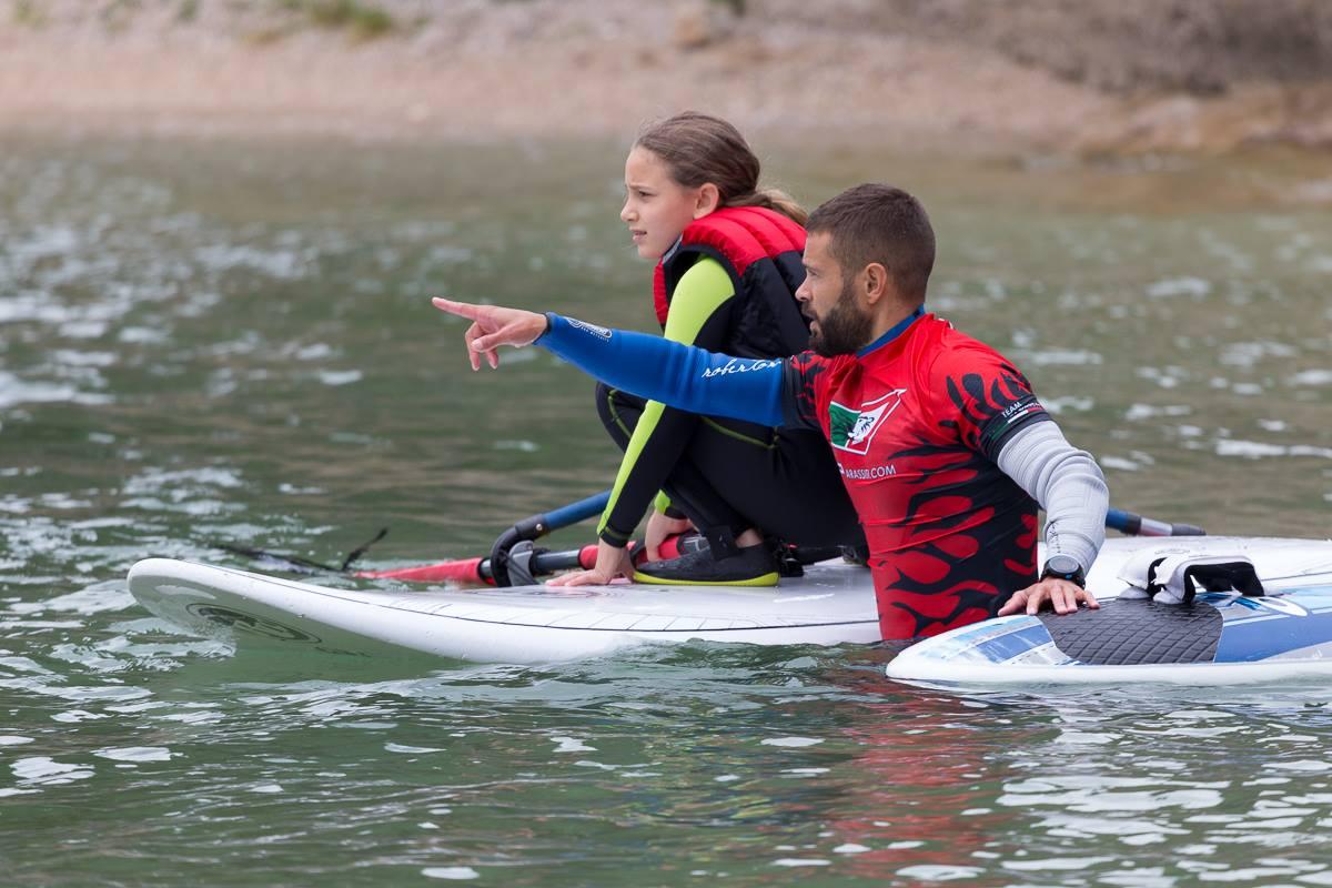 istruttore di windsurf a malcesine