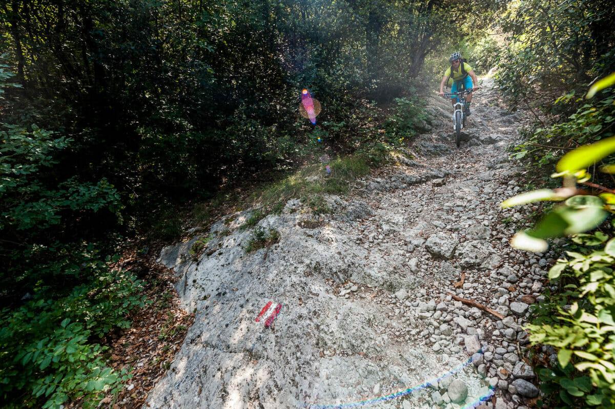 steile abstieg strecke 4