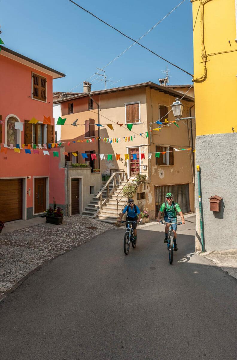 biking in castello