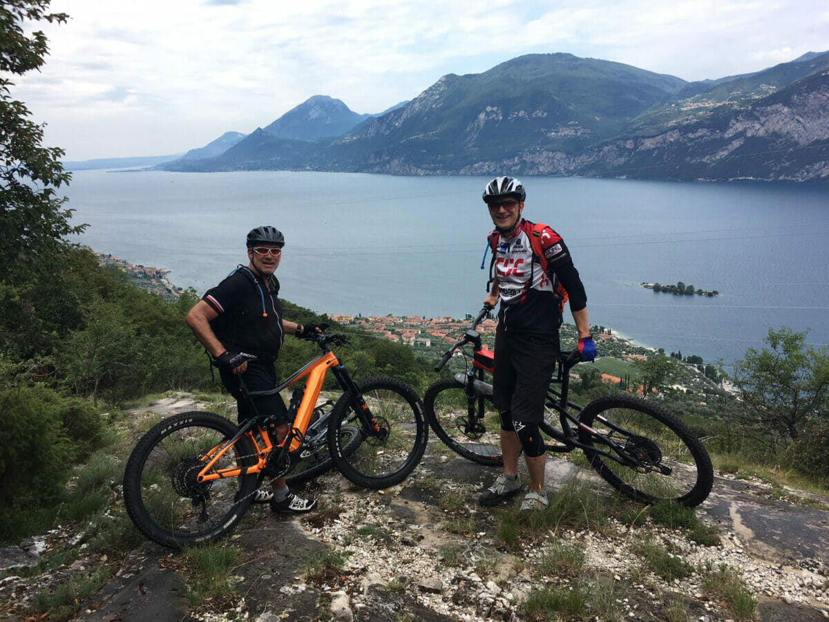 malcesine bike tour
