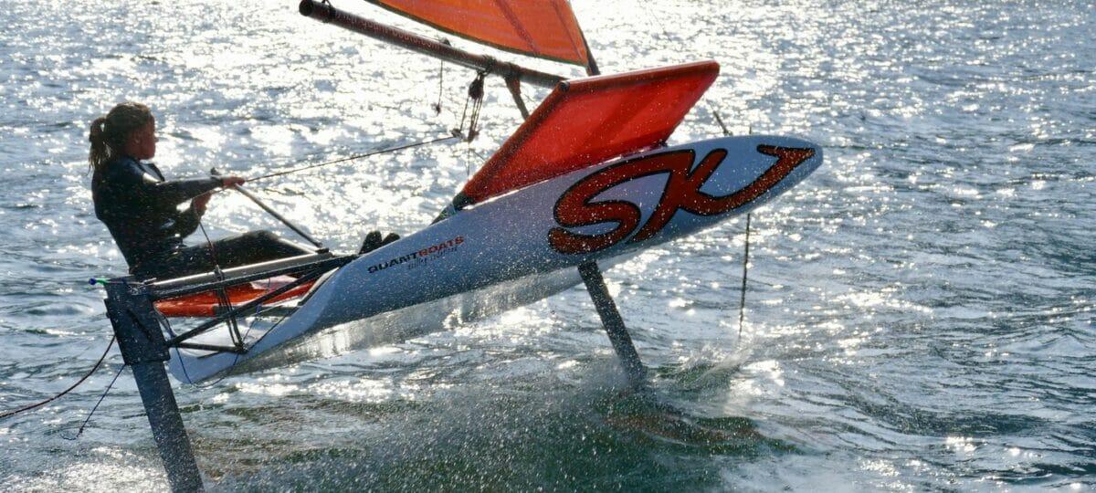 catamaran foil course at stickl sportcamp