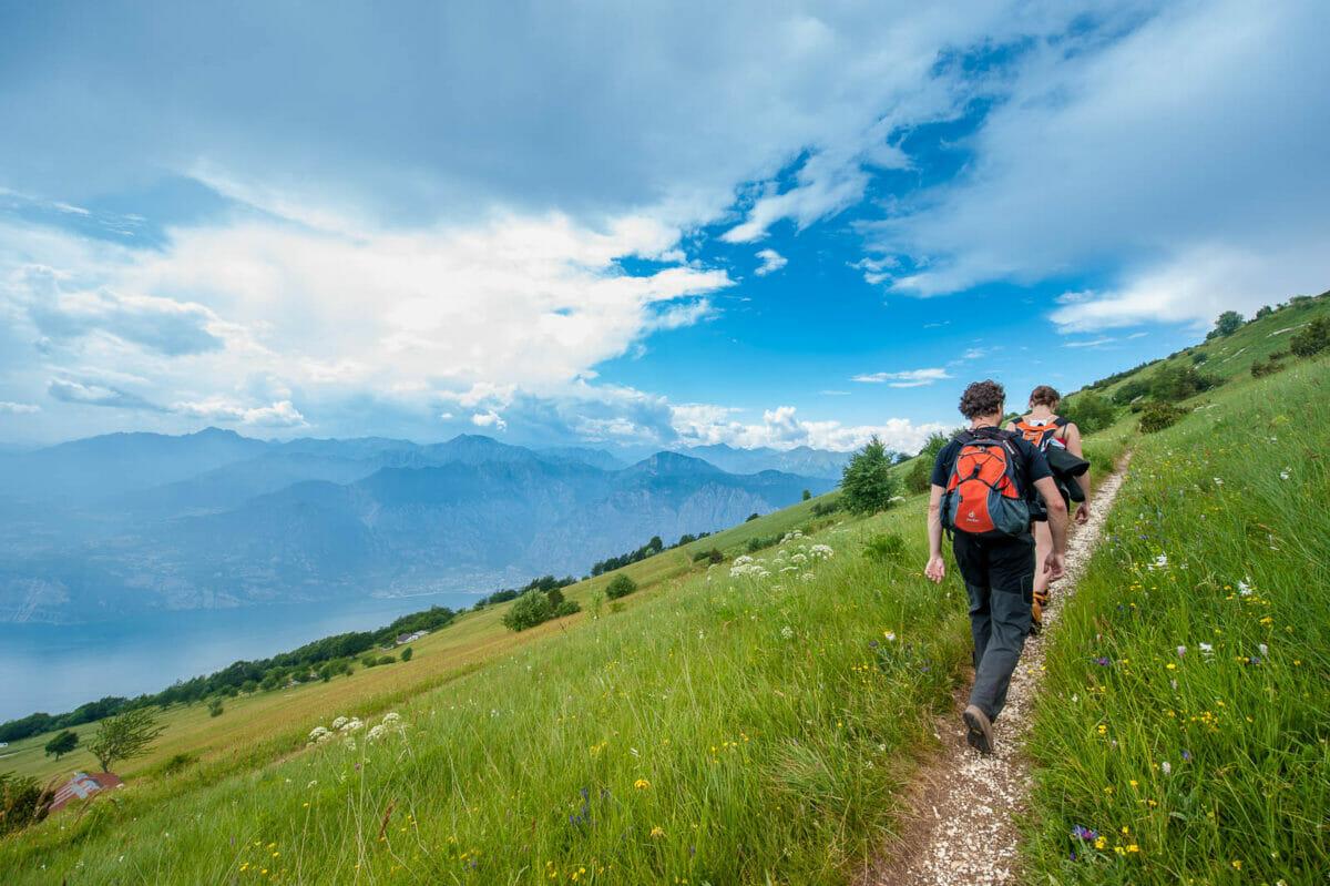 Monte Baldo Abstieg