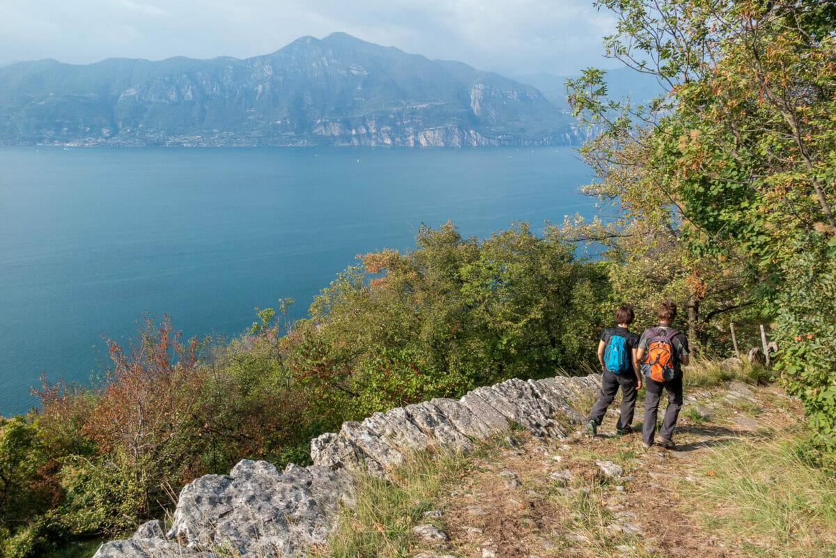 path 37 and garda lake