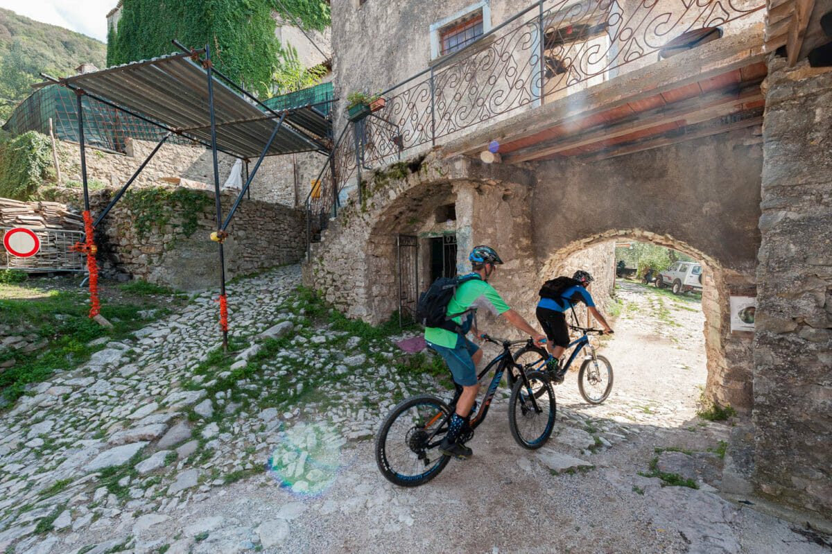 through campo by bike